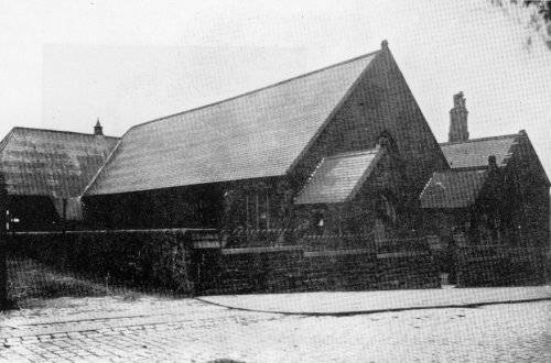 The School as it was around 1900