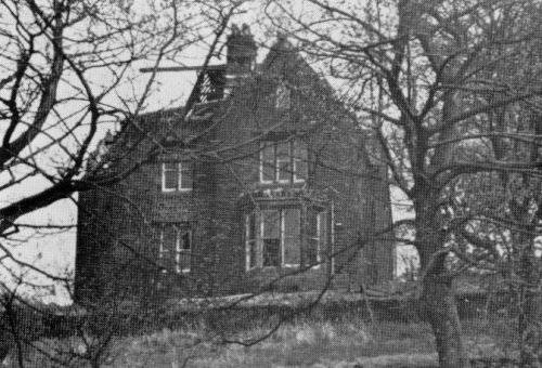 The old Vicarage - Opened 1877. No central heating. 26 rooms. Closed 1956. Demolished 1977